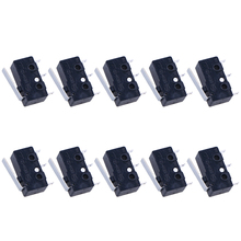 20pcs Limit Switch Push Button Waterproof Momentary Electrical 3 Pins Durable Premium High Quality Electric Switch Micro Switch