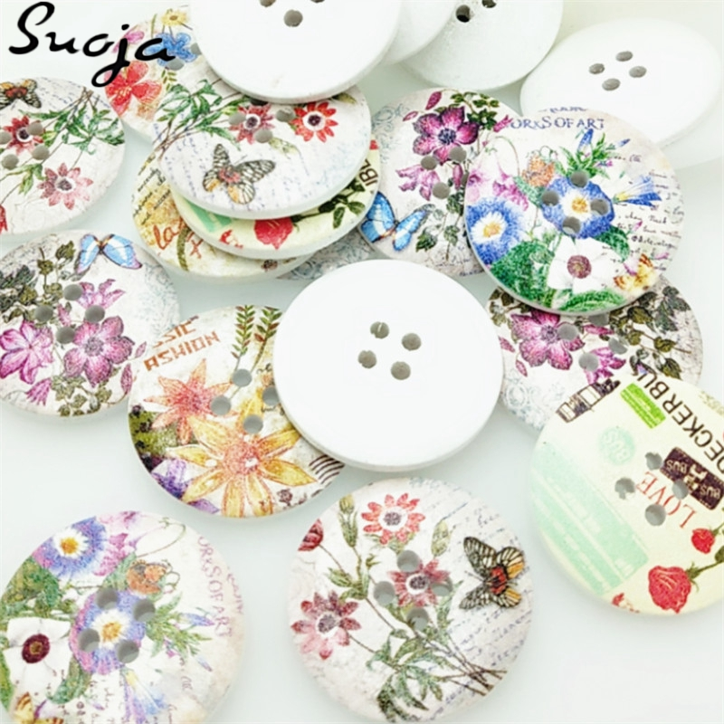 Suoja new 10pcs big spring flowers wood buttons 30mm sewing craft suoja new 10pcs big spring flowers wood buttons 30mm sewing craft mix lots in buttons from home garden on aliexpress alibaba group mightylinksfo