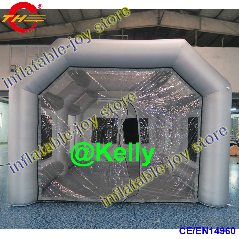 7x4x3mh Free Shipping Inflatable Spray Booth For Sale Portable Inflatable Spray Paint Booth