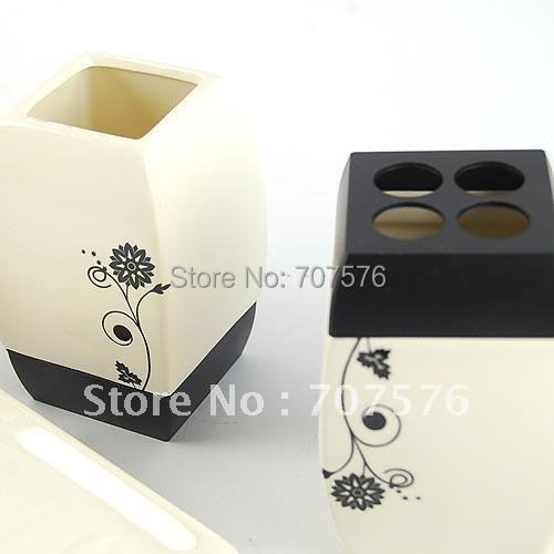 Free Shipping One Set of Bathroom products ( 4pcs/set ) luxury bathroom set TBS122-4 In High Quality Ceramic