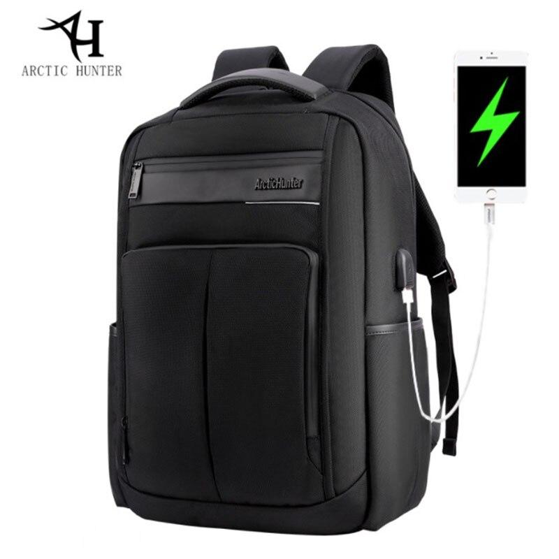 ARCTIC HUNTER nouveau sac à dos de loisirs pour hommes sac à dos imperméable à l'eau pour adolescent Charge 15.6 sac à dos d'ordinateur portable