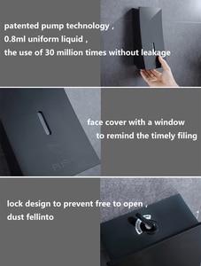 Image 3 - POIQIHY Black Liquid Soap Dispenser Automatic Push Switch Kitchen Sink Liquid Soap Dispenser Handpress Dispenser