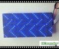 P10 полу-открытый один синий цвет реклама из светодиодов сообщение знак жк-модуль 320 * 160 мм размер с бесплатным ступицы кабель и кабель питания и магнит