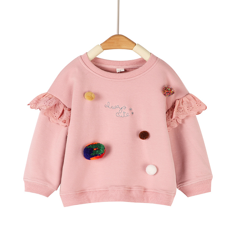 2018 New Children Sweatshirt for Girls Casual Cute Kids Hoodies Long Sleeve Girls Sweatshirt Autumn Winter Girls Clothes BC408 цены