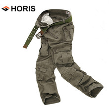2017 Men's Fashion Camouflage Military Trousers High Quality Branding Cargo Pants Cotton Soft Wearable Casual Pants H032