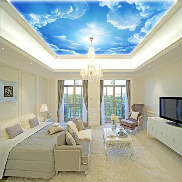 3d Photo Star Nebula Night Sky Large Suspended Ceiling