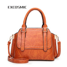 Купить с кэшбэком Women  Bag Vintage  Shoulder Bag High Quality  Fashion Women Handbags PU Leather Totes Bag Top-handle Crossbody Bag Shoulder Bag