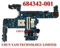 Atacado laptop motherboard 684342-001 para hp probook 6475b promo 684342-601 100% testado 90 dias de garantia
