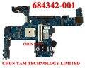 Comercio al por mayor promoción placa madre del ordenador portátil 684342-001 para hp probook 6475b 684342-601 el 100% probó garantía de 90 días