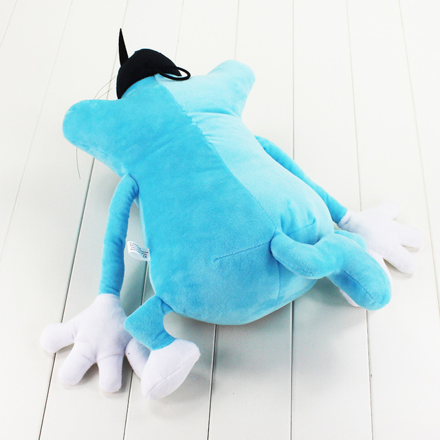 36cm Oggy and the Cockroaches French Cartoon Oggy Plush doll toy Fat Cat Oggy stuffed soft