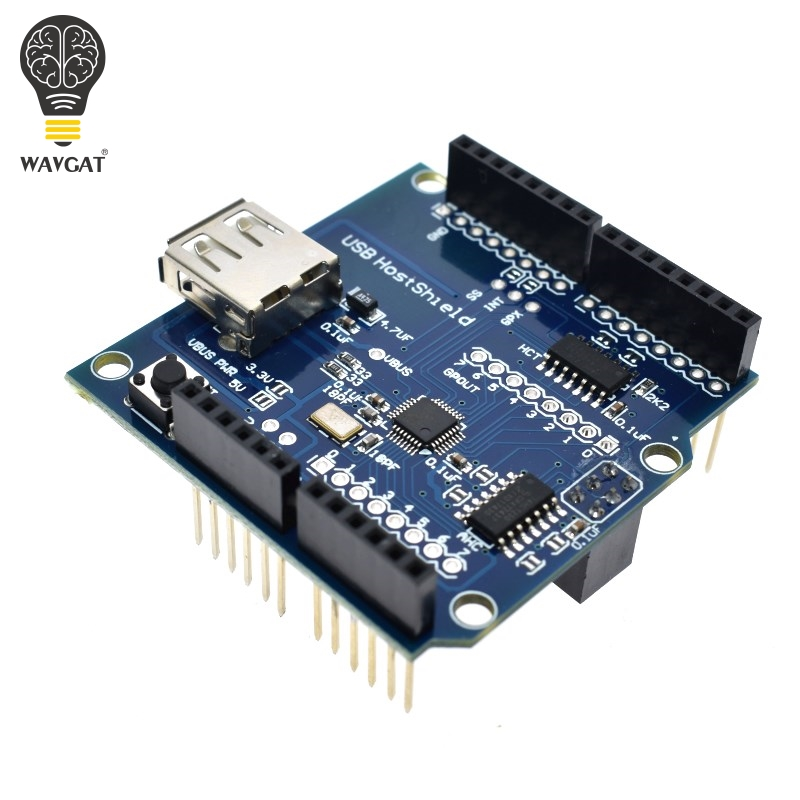WAVGAT USB Host Shield 2.0 Compatible With Arduino For Android ADK Support For UNO MEGA