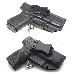 Image 1 - Inside the Waistband IWB Kydex Gun Holster For Taurus PT111 PT140 G2 Millenium G2C Glock 19 23 25 32 Concealed Carry