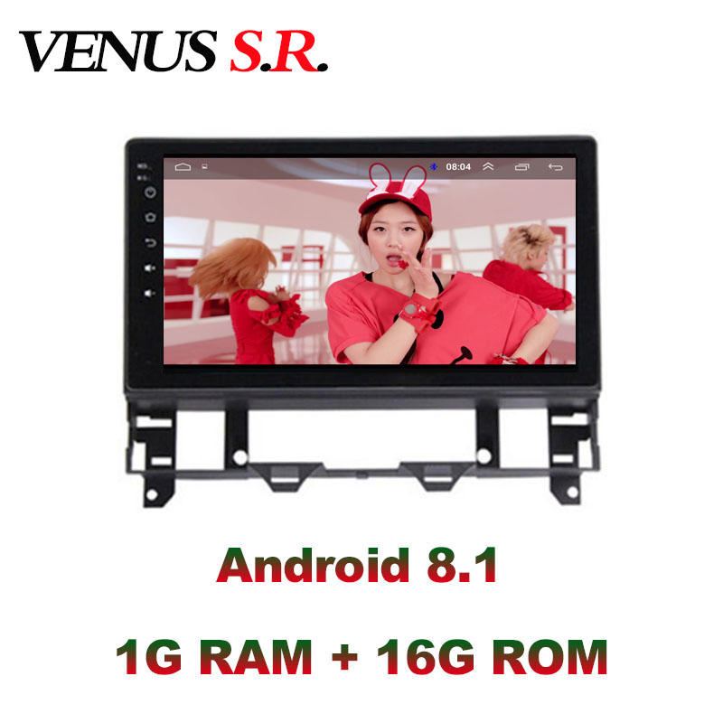 VenusSR Android 8.1 2.5D car dvd For <font><b>Mazda</b></font> <font><b>6</b></font> Radio 2002-2008 multimedia <font><b>GPS</b></font> Radio stereo <font><b>gps</b></font> <font><b>navigation</b></font> image