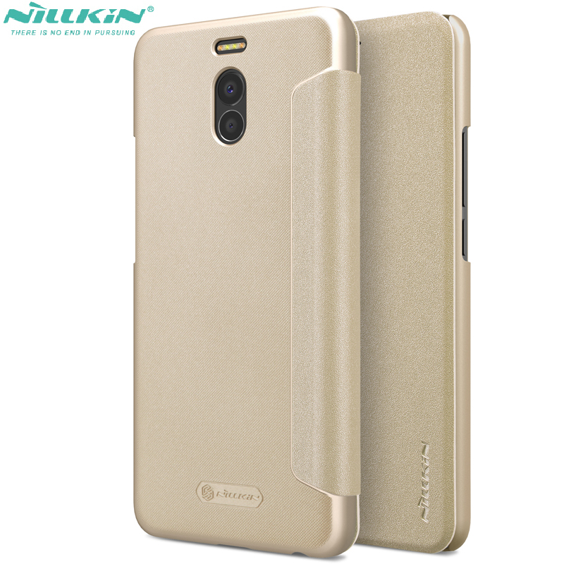 flip case for meizu m6 note nillkin frosted leather cases shockproof cover for meizu m6 note