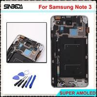 Sinbeda Super AMOLE HD For Samsung Galaxy Note 3 N9005 N900A N900T LCD Screen Display Touch