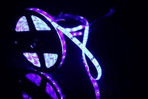 Image 2 - DIY Led U HOME DC12V 440nm 450nm Bể Cá Cá Actini Xanh Dương & Tím Chống Nước SMD2835 Dây Đèn LED Ánh Sáng Cho Decoratioin