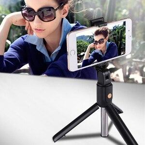 Image 2 - Rovtop بلوتوث Selfie عصا ترايبود التحكم عن بعد Monopod آيفون ترايبود صغير الهاتف جبل لسامسونج هواوي Gopro