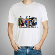 Naruto Cartoon Anime Print T-Shirt in Various Style