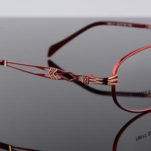 Image 5 - BCLEAR موضة خمر النساء العين إطارات النظارات نظارات سيدة المعادن واضح عدسة النظارات البصرية إطار الإناث الرجعية الكلاسيكية