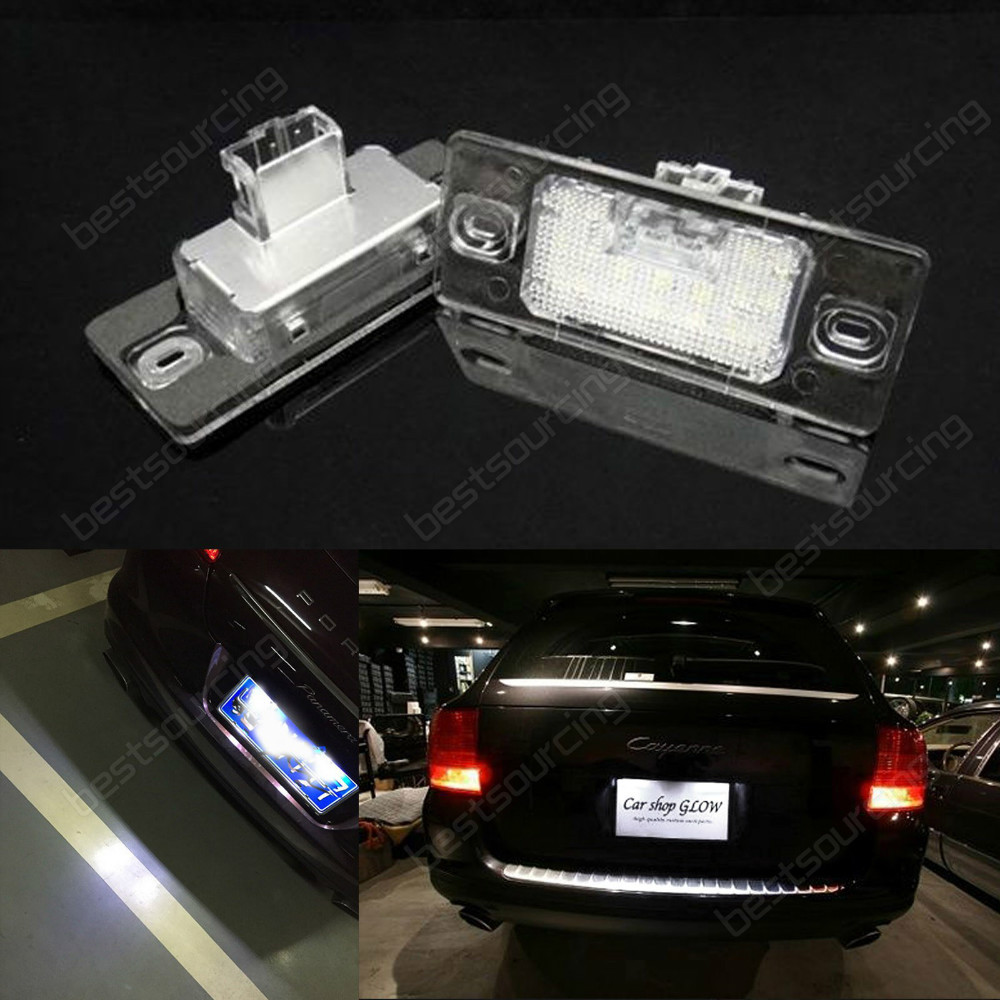 2x LED Licence REG Number Plate Light No Error Cayenne 955 957 Touareg 7L Tiguan 01-05 VW Passat B5.5 5D Touring (CA204) 2 white led licence number plate light canbus error free 07 15 smart fortwo w451 ca238 page 2 page href