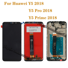 5.45 Original LCD for Huawei Y5 prime 2018 LCD Display Touch Screen Digitizer Assembly For Huawei Y5 Pro 2018 Y5 2018 Repair kit все цены