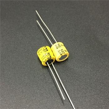 10 мкФ 50В ELNA CE-BP 6х7 мм 50в10мкф биполярный аудио конденсатор
