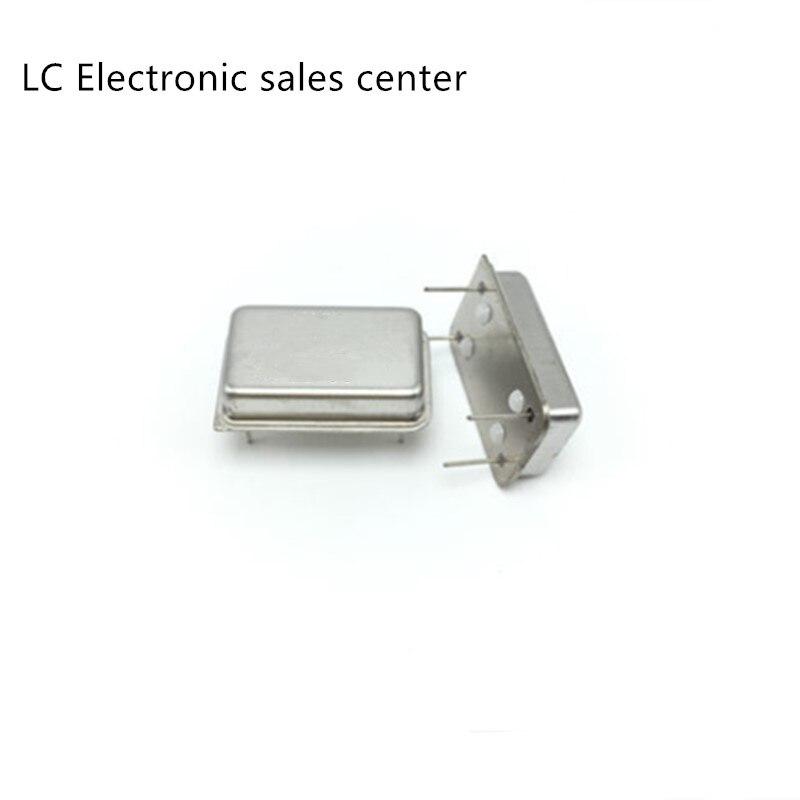 5pcs In-line Active Crystal OSC DIP-4 Rectangular Clock Vibration Full Size 50M 50MHZ 50.000MHZ