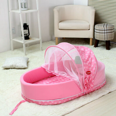 Multifunctional Folding Baby Bed Fashion Bed Portable Baby