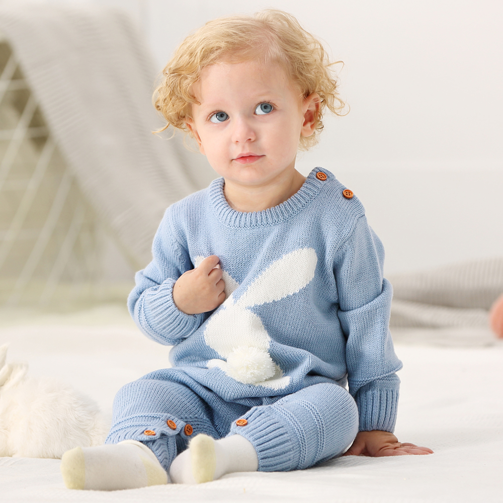 Baby Boys Rompers Winter 2018 Newborn Girls Christmas Jumpsuits Long Sleeves Infant Bebe Overalls Knitted Toddler One Piece Wear цена
