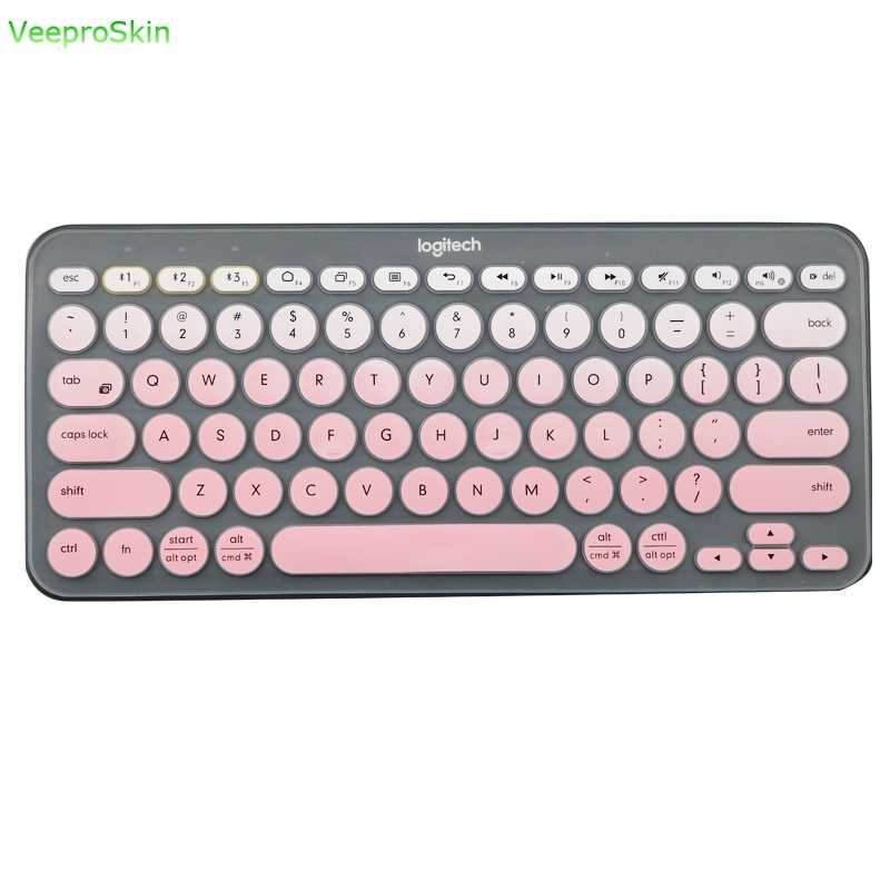 Silicone Keyboard Cover Protective film  For logitech K380 K 380 Bluetooth keyboard  multi-device mechanical skin Protector