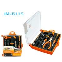 JM 6115 Precision T shaped ratchet screwdriver set with torx bits mobile phone repair tool & home repairing & computer hardware