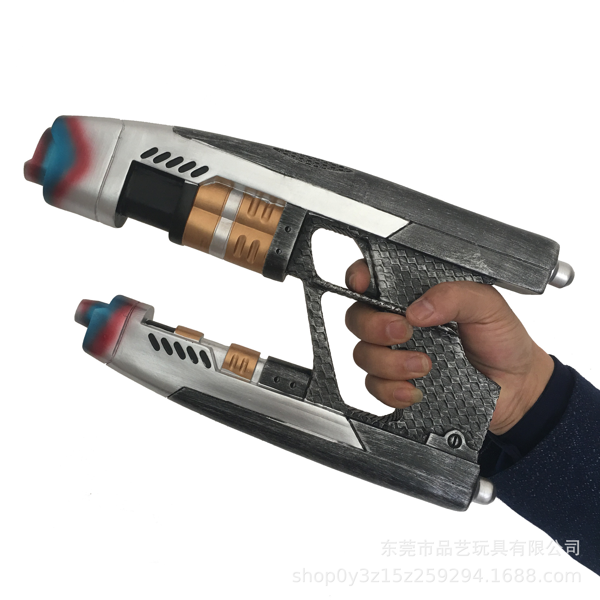 1pc Guardians Of The Galaxy Star Lord Weapon Gun Mens Role Play Peter Quill Cosplay Weapon Chris Pratt Prop Costumes & Accessories