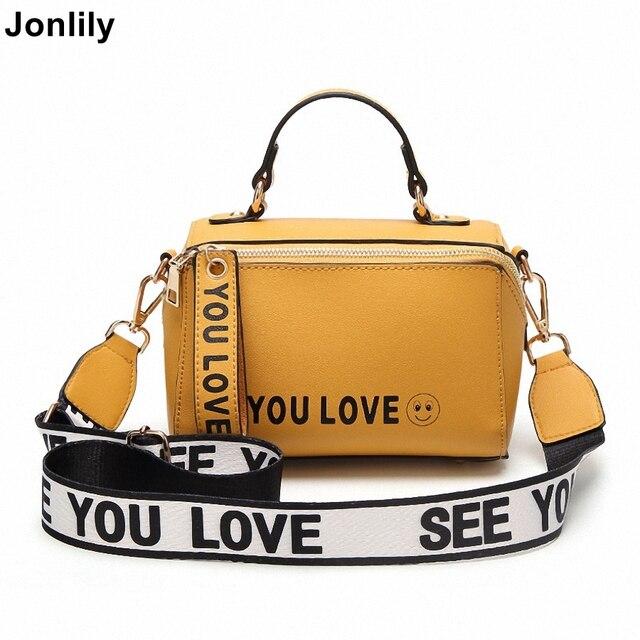 Jonlily женская сумка из искусственной кожи в форме ведерка Большая вместительная сумка через плечо модная сумка на плечо молодость для девочек-KG076