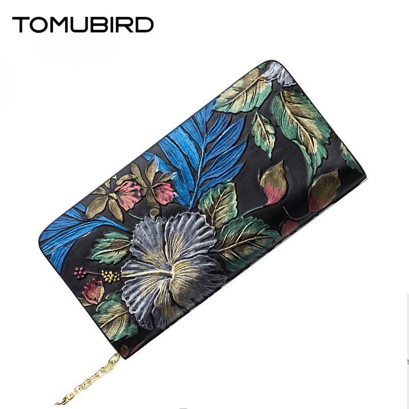 TOMUBIRD 2016 new fashion superior leather women genuine leather clutch bag embossed zipper wallet famous brands evening bag tomubird new superior leather designer bag famous brand fashion chain embossing evening bag women genuine leather clutch bag