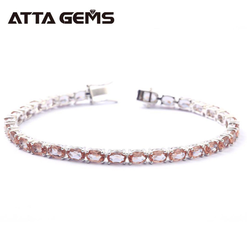 Zultanite Sterling Silver Bracelet for Women Fine Jewelry Wedding Bracelet 30 Carats Created Zultanite S925 for