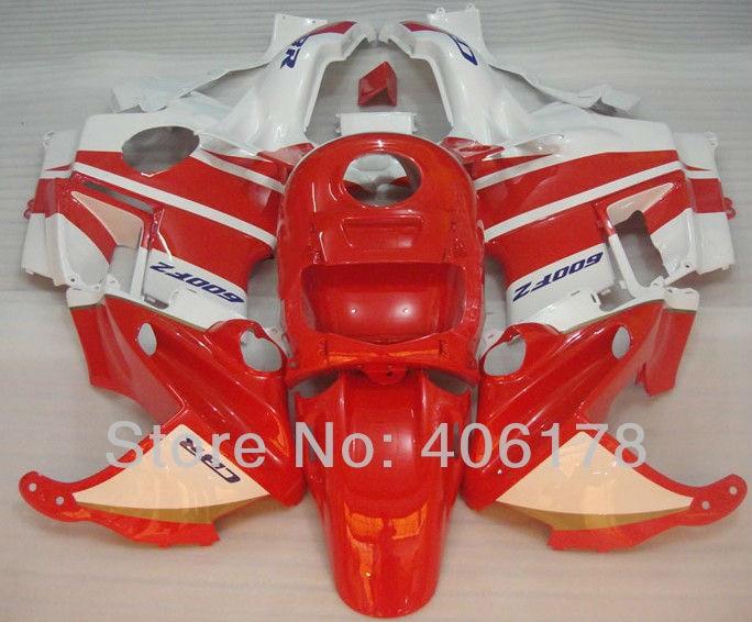 Hot Sales,91 92 93 94 cbr rr 600 F2 Fairing For Honda CBR600 F2 1991-1994 Red & White Motorcycle CBR600F2 Fairings мото обвесы hjmt 93 94 cbr600 f2 91 94 f2 cbr600 f2