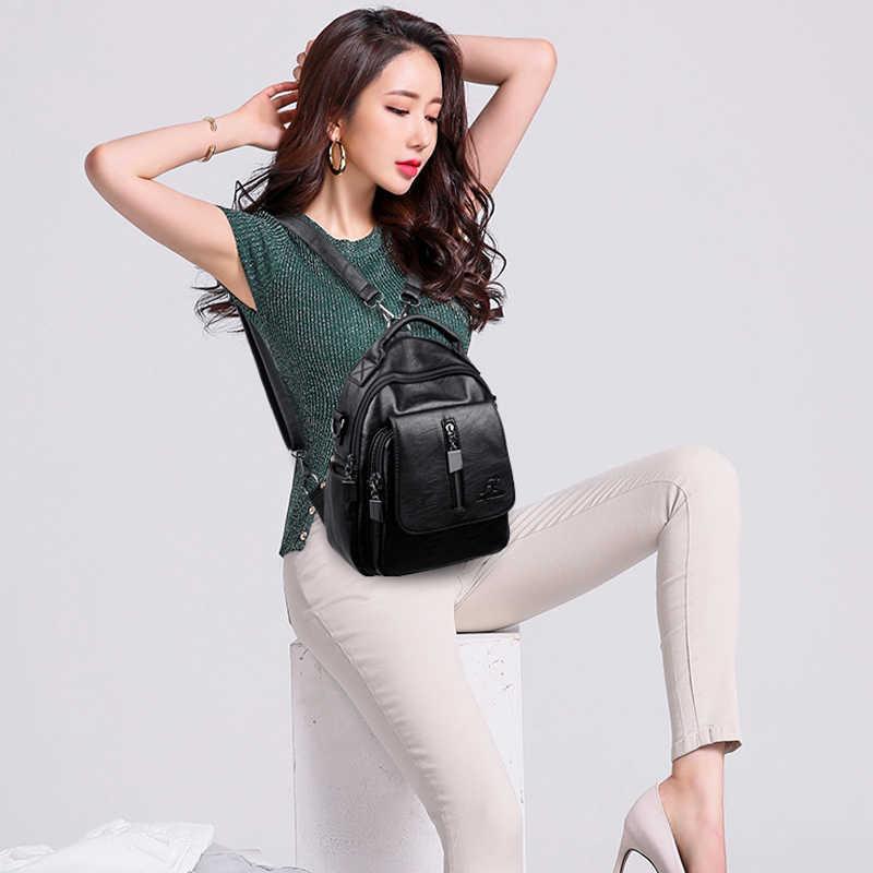 2019 для женщин Универсальный рюкзаки для обувь девочек Sac Dos женский Backpak высокое качество Bagpack Дамы Винтаж Back Pack дорожная сумка