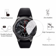 2Pcs Gear S3 Classic Glass Screen Protector Tempered Glass for Samsung Gear S3 f