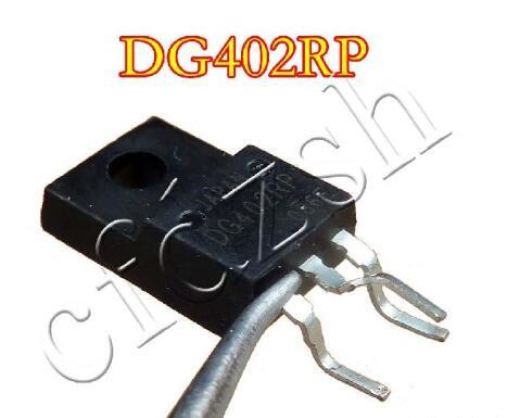 10pcs/lot DG402RP DG402 TO-220F New Original