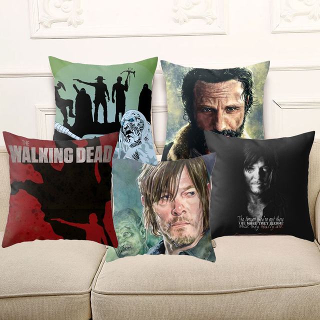 the walking dead pillowcase bestseries shop. Black Bedroom Furniture Sets. Home Design Ideas