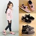 2017 nuevos niños casual shoes shoes boys and girls sports shoes baby school kids shoes estudiante cuero genuino shoes x195