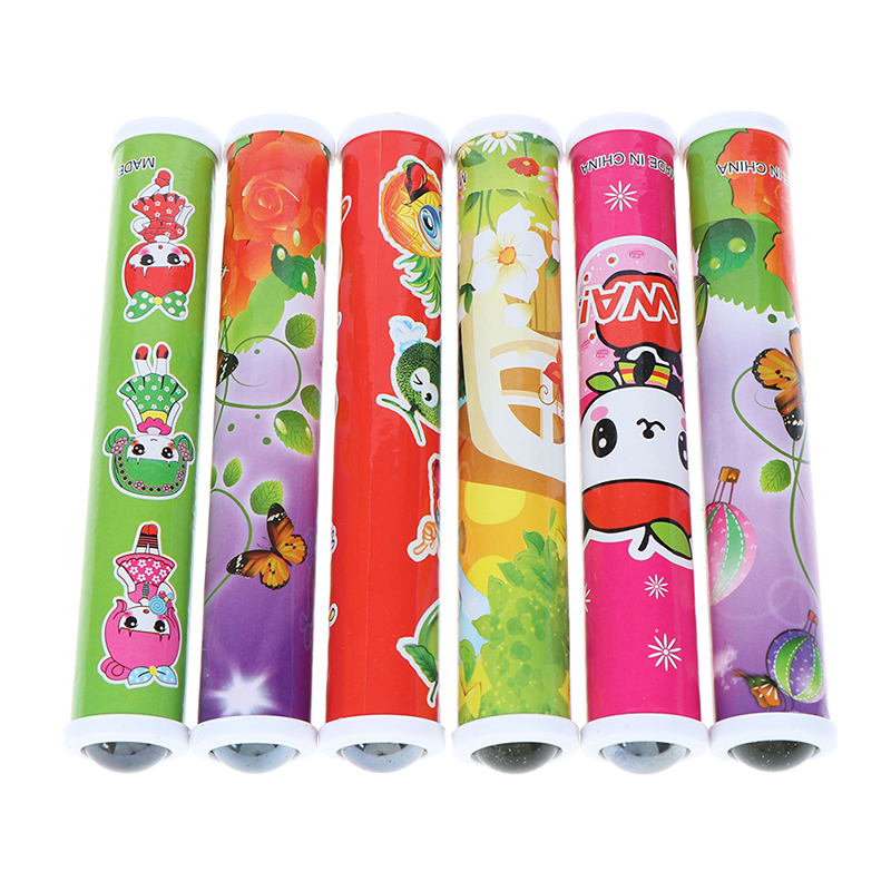 1PCS Plastic Colorful Magic Kaleidoscopes World Best Children Gift Children Best Toys Educational Toys Random Color image
