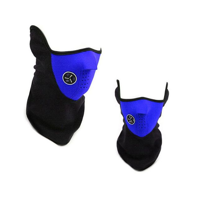Outdoor Cycling Face Mask Outdoor Sport Winter Warm Ski Mask Half Face Mask Bike Riding Sport High Quality 3