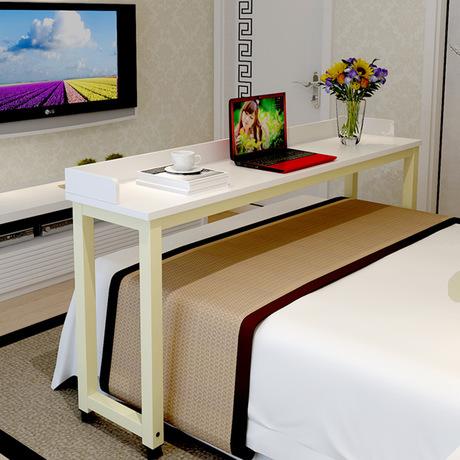 US $359.99 10% OFF Computer Schreibtisch bett tisch home Möbel holz + stahl  beweglichen notebook schreibtisch soporte notebook laptop tisch für bett ...