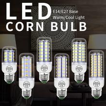 E14 LED 220V Corn Light E27 Led Lamp GU10 Lampada Led 3W Candle Light Bulb 24 36 48 56 69 72leds Energy Saving Home Light 240V high effect energy saving e14 ses 3w cool warm white led bulb light candle lamp ac 220 240v spotlight led for a home decor
