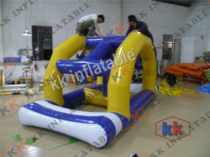 Juegos Inflables Del Agua Flotante Arco Puente De Obstaculos De