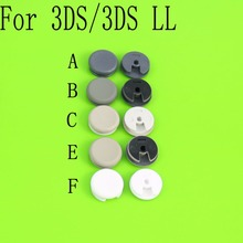 For Nintendo 3DS 3DS XL/LL Replacement Part Analog Thumb Stick Thumbsticks Joystick Cap Cover White/Black/Grey цена и фото