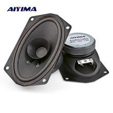 AIYIMA 2 шт. полнодиапазонные динамики колонки портативный аудио звуковой динамик 4 Ом 5 Вт громкий динамик DIY домашний кинотеатр музыкальный инструмент