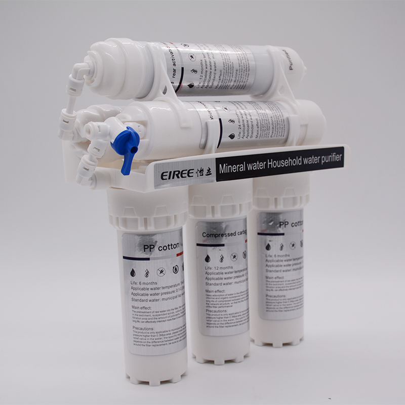 Free Shipping Household Magnetic Water Purifier 6 Stage UF System Mineral Water filter for home 2016 brand new high quality filter cartridges for water filter faucet lw 89 water purifier 2pcs lot free shipping