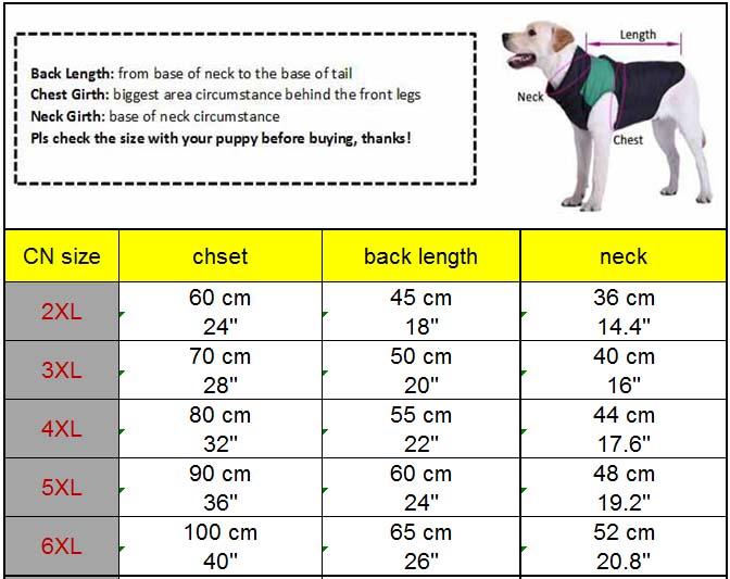 Plaid Large Dog Vest Keep Warm Soft Fleece Dog Sweater Coat Pet Clothes Labrador Husky Big Dogs Costume 2XL 3XL 4XL 5Xl 6XL6